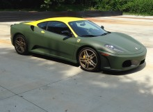 Ferari Vehicle Color Change - Deadline Design LLC of Atlanta