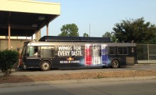 Red Bull Marta Fleet Vehicle Graphic Ad Atlanta